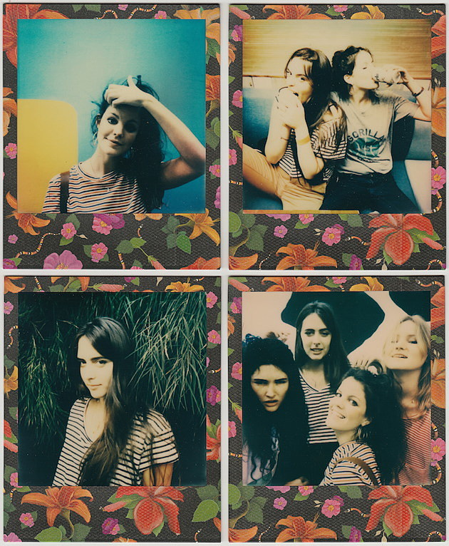 HINDS FLOWERY POLAROIDS