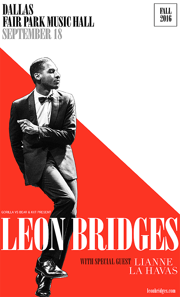 LEON BRIDGES DALLAS