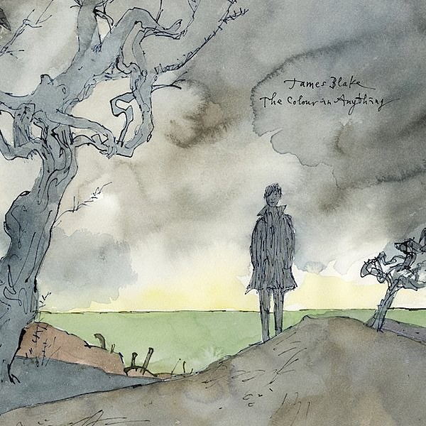JAMES BLAKE THE COLOUR IN ANYTHING COVER ART