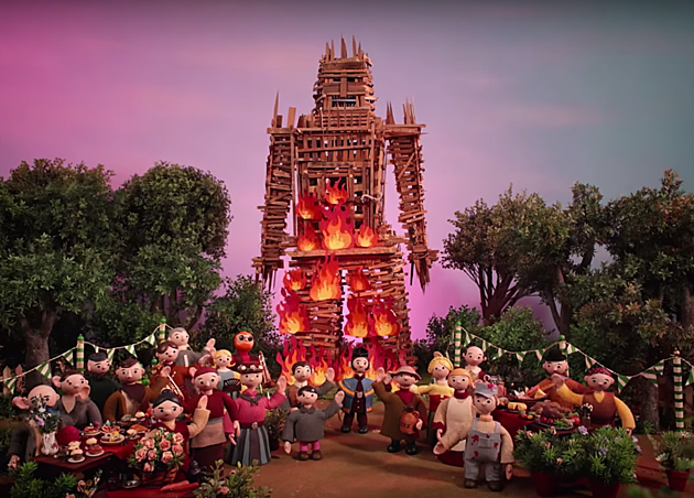 RADIOHEAD BURN THE WITCH VIDEO