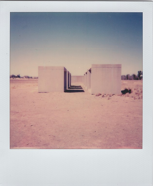 donald judd's 15 untitled works in concrete