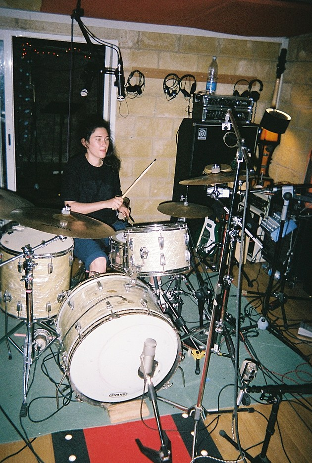 during the mixing period ade learned a bit of drums