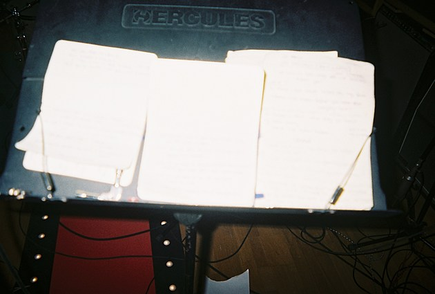 notes for recording