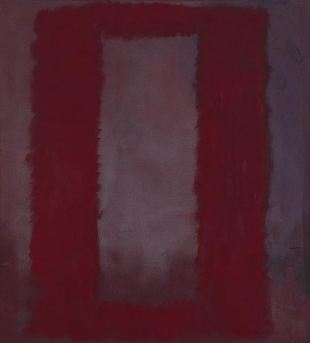 Red on Maroon 1959 by Mark Rothko 1903-1970