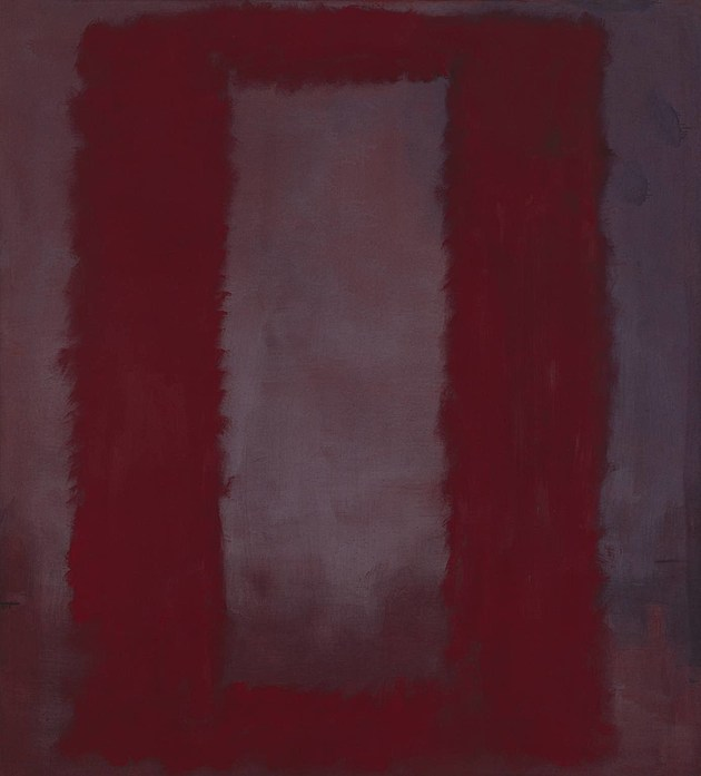 Red on Maroon 1959 by Mark Rothko 1903-1970