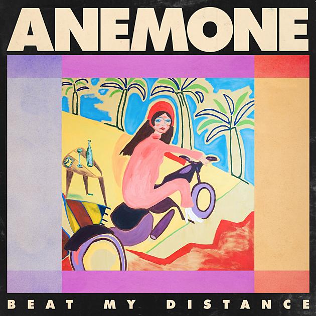 ANEMONE BEAT MY DISTANCE LP ART