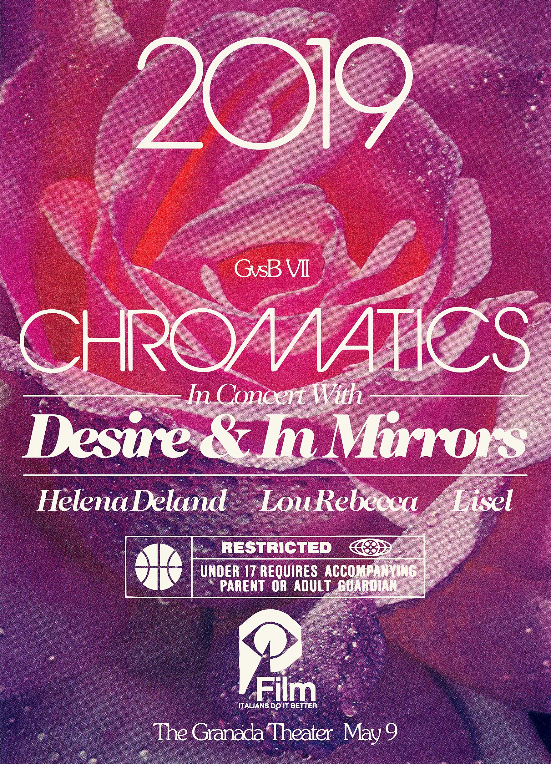 CHROMATICS GvsB VII